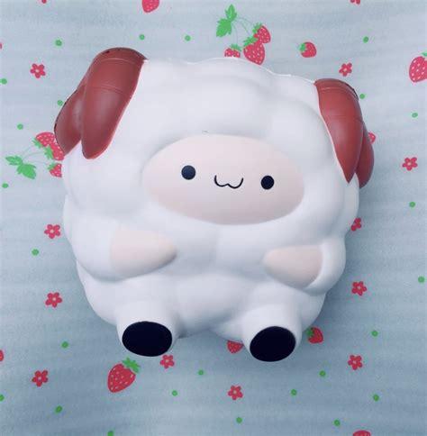 Squishy Popcorn Sheep By Pat Pat Zoo Pat Pat Pop Pop Zoo Jumbo Sheep Squishy