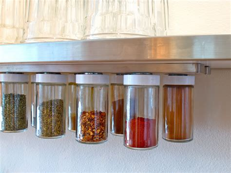 Spice Storage Rack blukatkraft diy hanging magnetic spice rack storage
