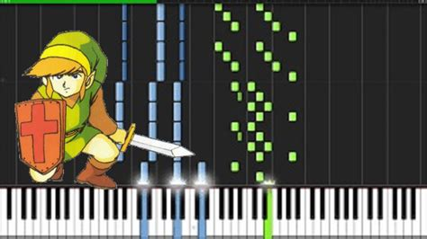 tutorial piano zelda legend of zelda credits synthesia piano tutorial youtube