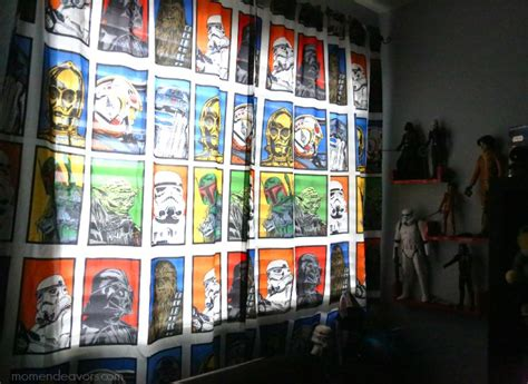 star wars drapes disney star wars playroom