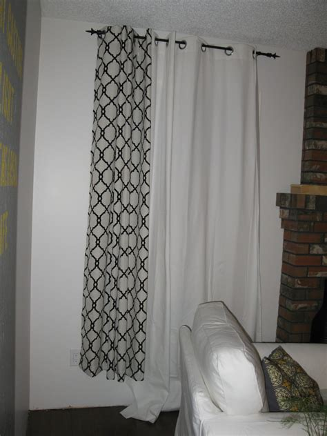 how to add length to curtains creating domestic bliss add length to curtains without sewing