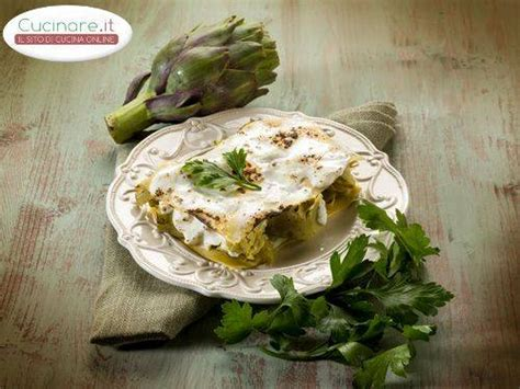 cucinare la lasagna lasagna ai carciofi cucinare it