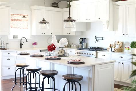 Diy White Kitchen Cabinets kitchen decor from wayfair the taylor house