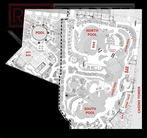wet republic floor plan las vegas pool party maps red carpet vip