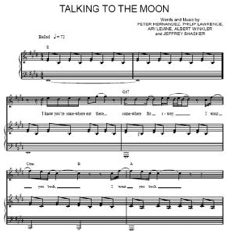 download mp3 bruno mars talking to the moon free bruno mars talking to the moon piano sheet music
