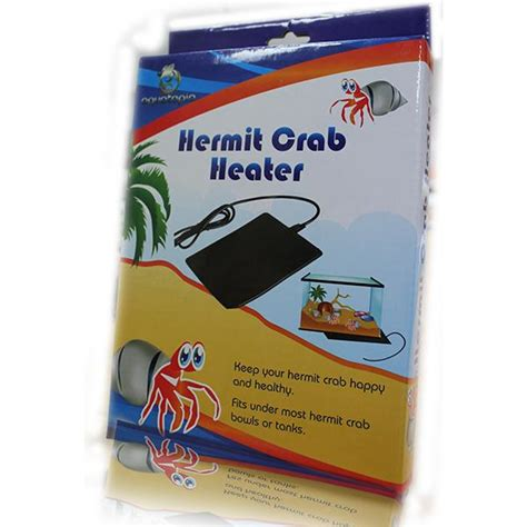 hermit crab heater reptile heating aquatopia product