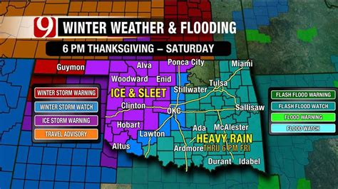 Weather News9com Oklahoma City Ok | oklahoma bracing for wet icy weather news9 com