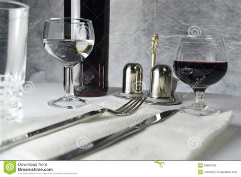 fancy table set for a dinner royalty free stock image dinner table royalty free stock photo image 29961245