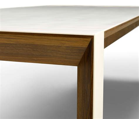 corian walnut extending dining table wharfside