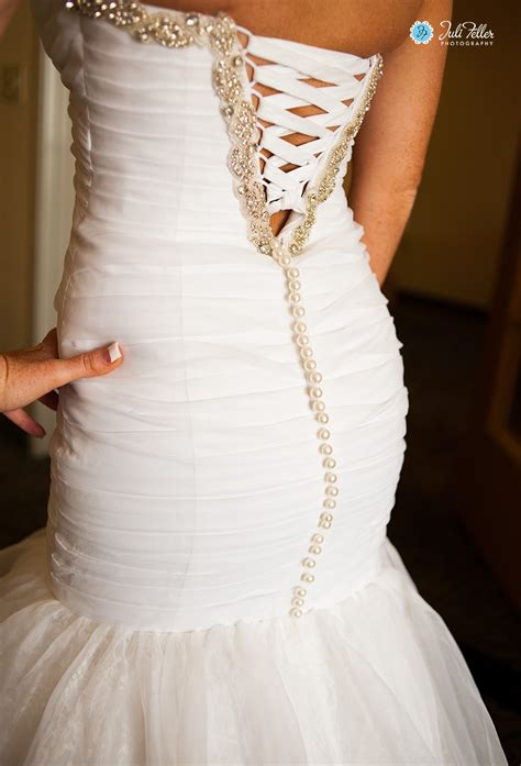Wedding Dress Zip To Corset by Can I My Both Lace Corset Buttons On My Gown