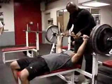 bench press youtube bench press accident youtube
