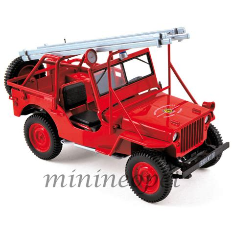 Diecast Jeep Norev 189012 1988 Jeep Department Vehicle 1 18