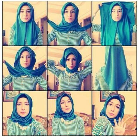 tutorial hijab simple casual 2015 pin tutorial hijab simple newsviva on pinterest