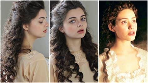 opera hair styl christine daae phantom of the opera tutorial beauty