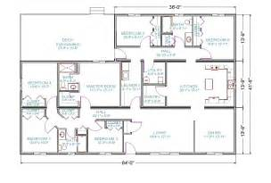 Floor Plan Of The Brady Bunch House by One Story Farmhouse Style House Plans For Homes Wiring