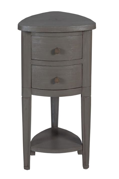 Corner Accent Table With Drawer | timeless classics corner accent table with drawer