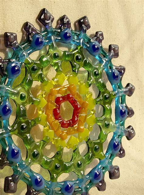 A Dichroic Look by 1000 Images About Fused Glass Ideas On Fused