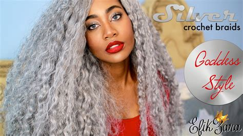 Crochet Hairstyles For Black 50 by Silver Grey Crochet Braids Hairstyles For 50