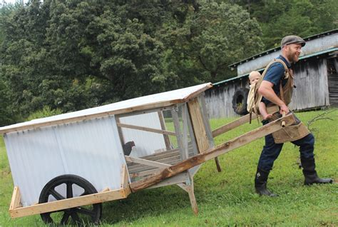 Mobile Chicken Shed by Finally A Mobile Chicken Coop One Person Can Easily