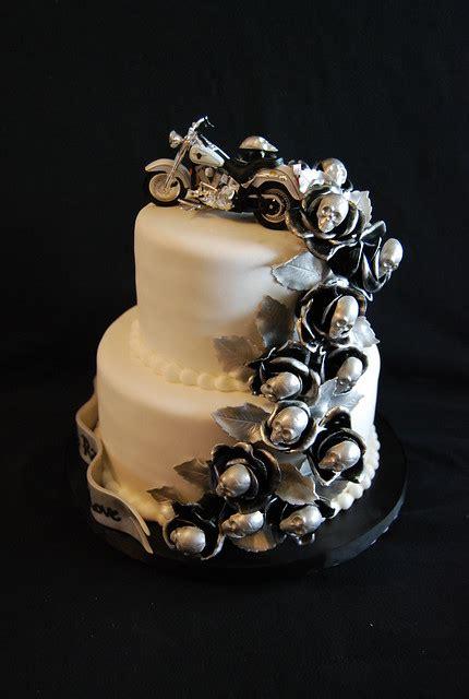 harley themed wedding cake flickr photo