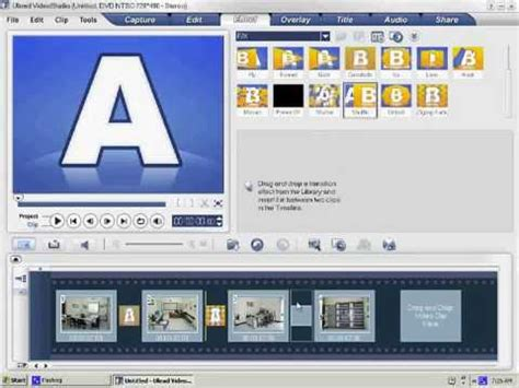 tutorial membuat video menggunakan ulead video tutorial membuat video slideshow photo dengan corel