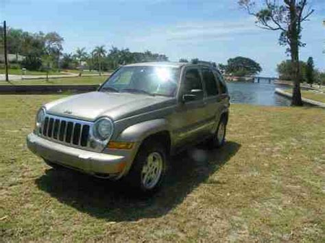 jeep liberty rust purchase used 2005 jeep liberty turbo diesel southern