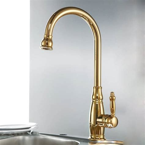 brass faucet kitchen 25 ways to use gold accents in the kitchen