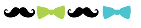 Baby Boy Welcome Home Decorations My Little Man Moustache Amp Bow Tie Party Bunting Boy S