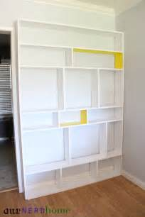 Cheap Bookshelves Diy Diy Bookcase Before Our Home