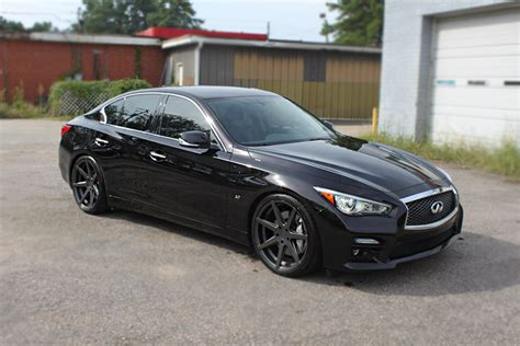 Infiniti Q50 Aftermarket Infiniti Q50 Custom Wheels Rohana Rc7 20x9 0 Et 32 Tire