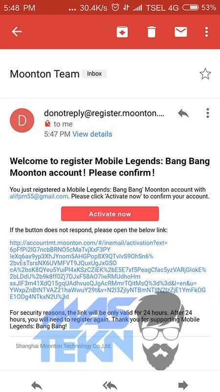 membuat akun moonton di web cara membuat akun montoon moobile legends untuk bind akun ml