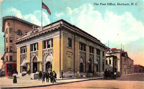 post office federal building open durham