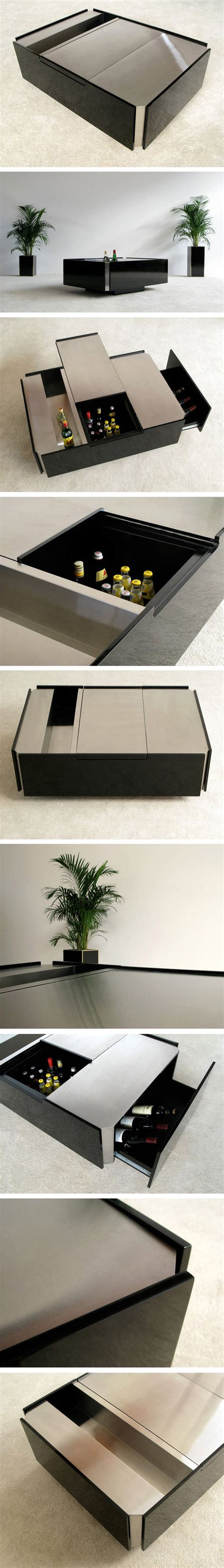 coffee table with fridge stainless steel coffee table with fridge circa 70