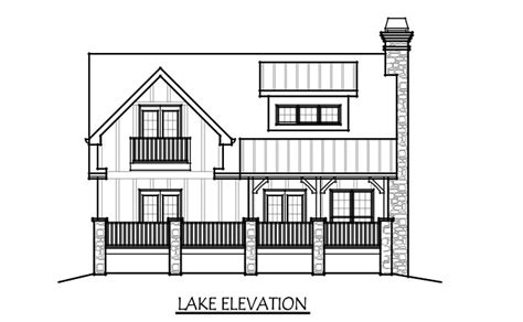 3 story lake house plans small bungalow cottage house plan with porches and photos