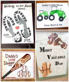 Footprint Crafts For Kids - father s day footprint gift ideas from the kids crafty morning