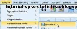 tutorial spss anova dua arah belajar spss dan statistika uji anova dua arah