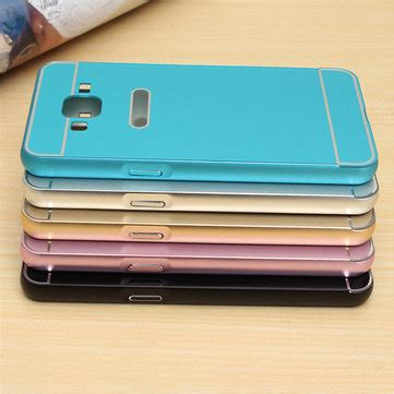 Bumper Mirror Samsung Grand 2 Grand Prime Galaxy V Unik metal frame bumper pc back cover for samsung galaxy grand prime g530h sale banggood