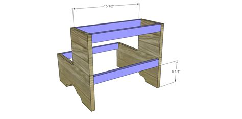 Step Stool Design Plans by Free Plans To Build A Step Stool