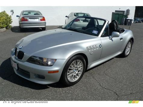 bmw z3 2 8 2000 bmw z3 2 8 roadster in titanium silver metallic photo