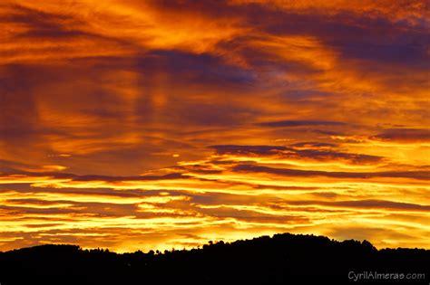 Feng Shui couchers de soleil levers de soleil