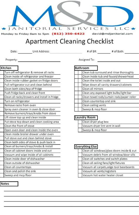 apartment design guide checklist apartment cleaning checklist kot me