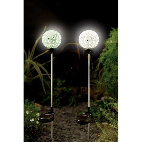solar light globes led solar light ceramic silhouette globes by garden