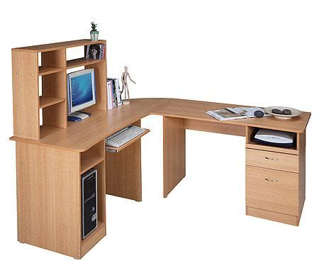 L Shaped Office Computer Study Executive Desk Rrp 699 For L Shaped Computer Desk For Sale