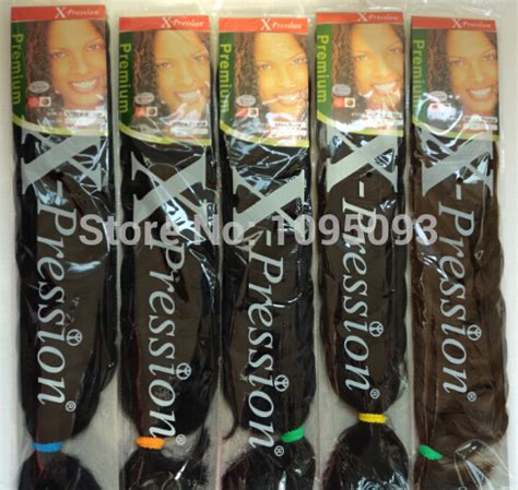 expression braiding hair 165g kanekalon hair 82 inch synthetic hair extension x