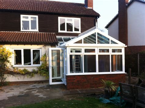 gabled conservatory extension kitchen extensions housetohome co uk gable ended conservatory in haddenham crendon