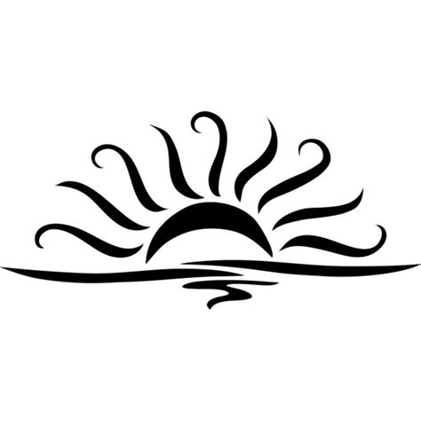 Sunset Drawing Outline by Clipart Free Clip Free Clip On Clipart Library