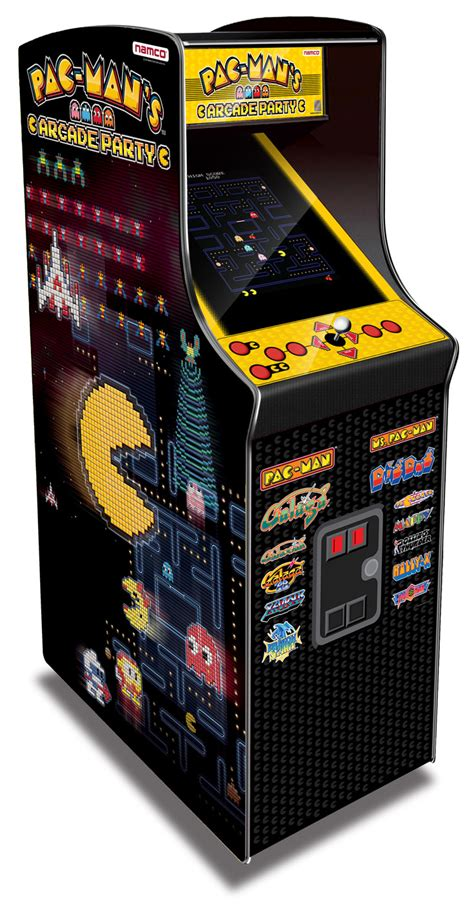 pac man arcade cabinet pac man s arcade party cabinet