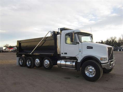 heavy duty volvo trucks 2008 volvo vhd64b200 heavy duty dump truck for sale