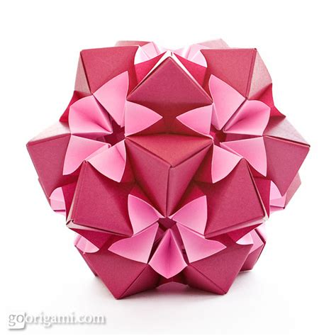 kusudama origami on origami origami tutorial