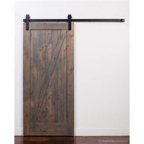 Rusticahardware Wood 1 Panel Stained Sliding Barn Interior Wood Panel Sliding Closet Doors